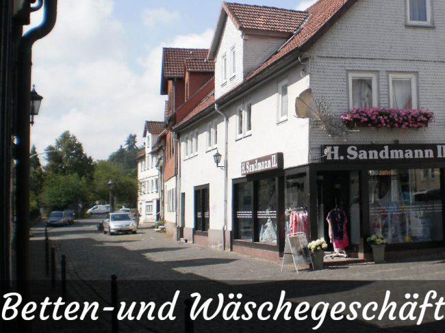 Betten- und Wäschegeschäft H. Sandmann II.